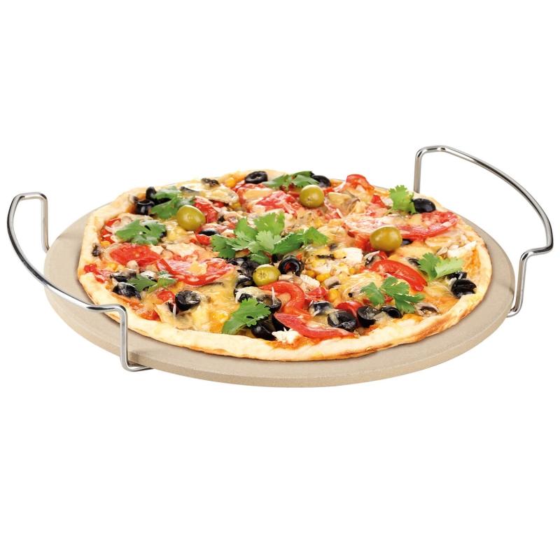 BBQ | Pizzastein mit Gestell