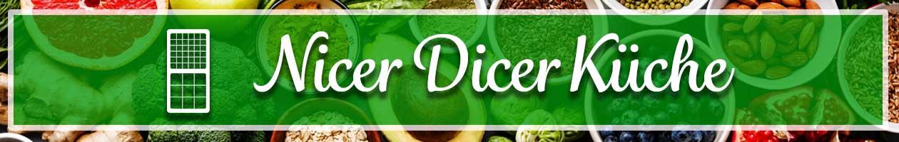 Desktop Reinigung der Nicer Dicer Messereinsätze
