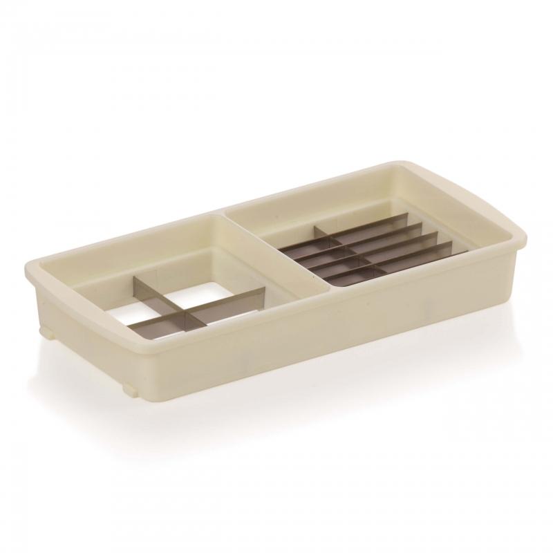 Nicer Dicer Magic Cube gourmet | Messereinsatz (7x25 mm & 25x25 mm)