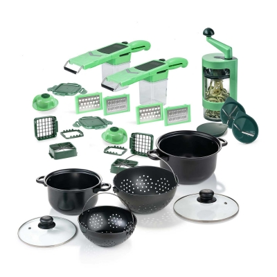 Nicer Dicer Quick Professional   Deluxe Set 36-tlg.