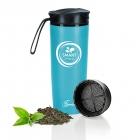 Smart Spring Never Fall Trinkflasche 430 ml mit Teefilter