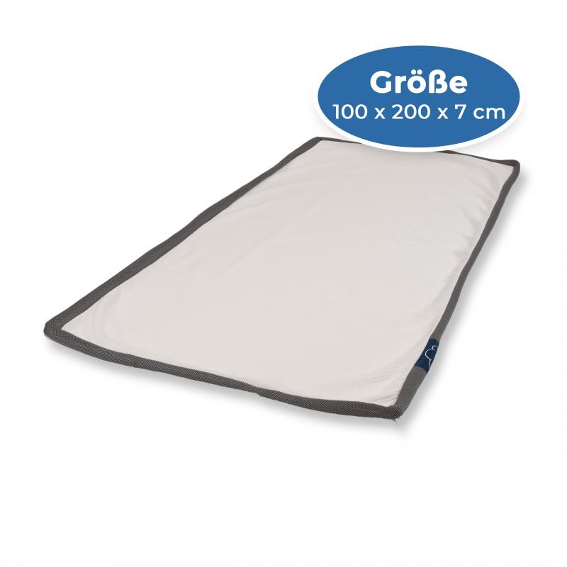 eazzzy | Topperbezug 100 x 200 x 7 cm