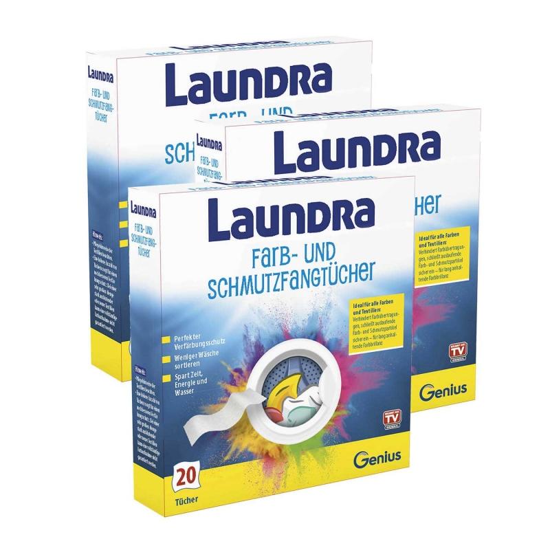 Laundra | Farb- und Schmutzfangtücher | Set 60-tlg.