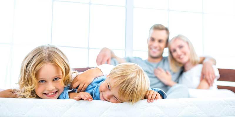 Die Schlafunterlage hat Einfluss auf das Schlafklima