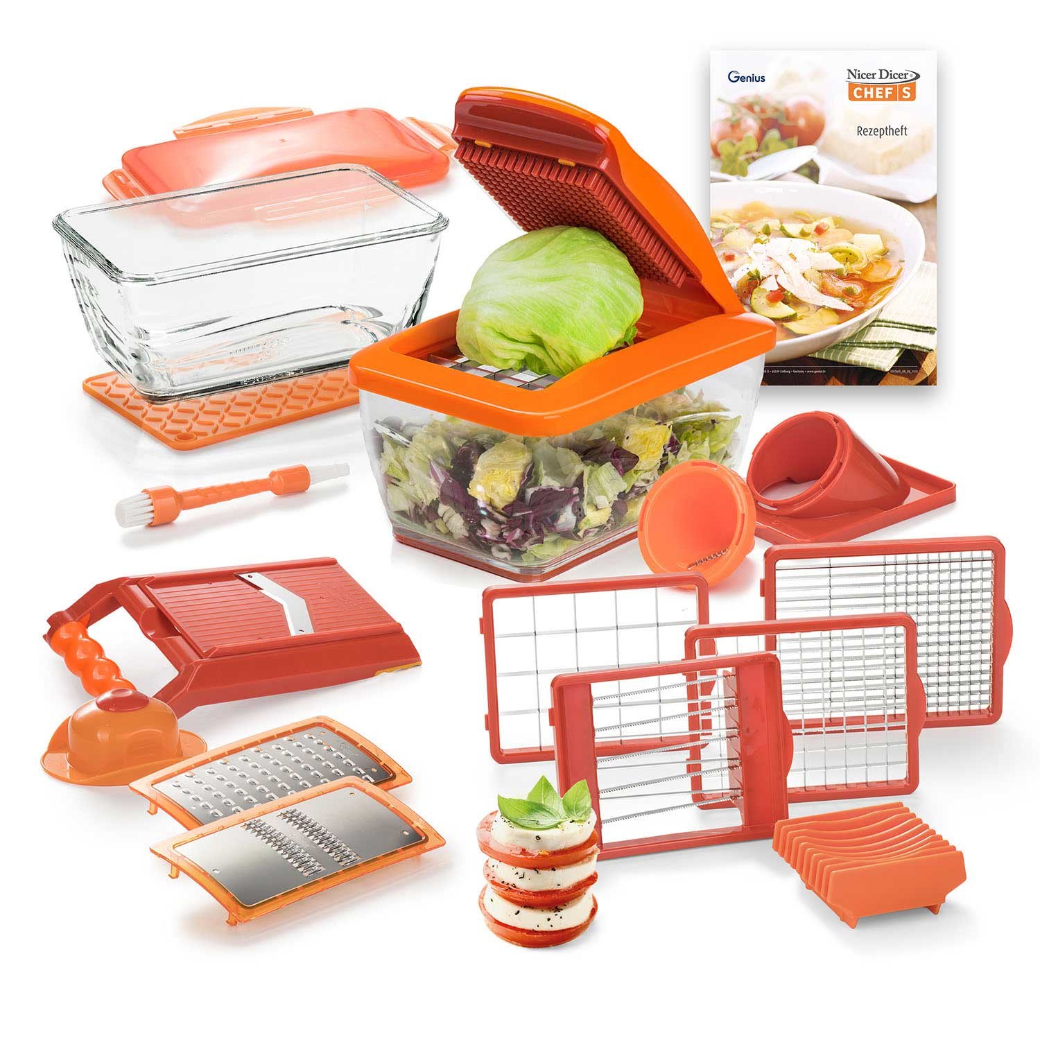 Nicer Dicer Chef S | Deluxe-Set 20-tlg.