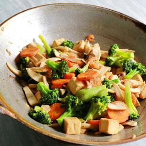 Tofu-Gem-se-Pfanne