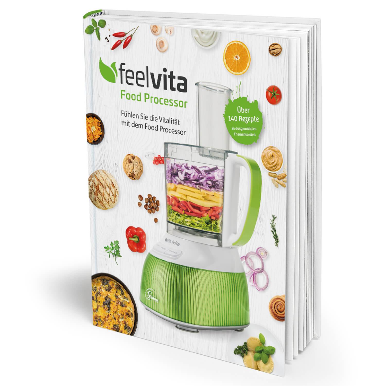 Genius Feelvita | Food Processor Rezeptbuch A19014