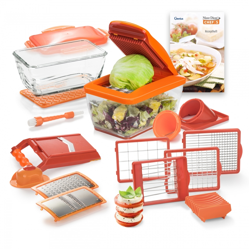 Nicer Dicer Chef S | Deluxe-Set 20-tlg. | B-Ware