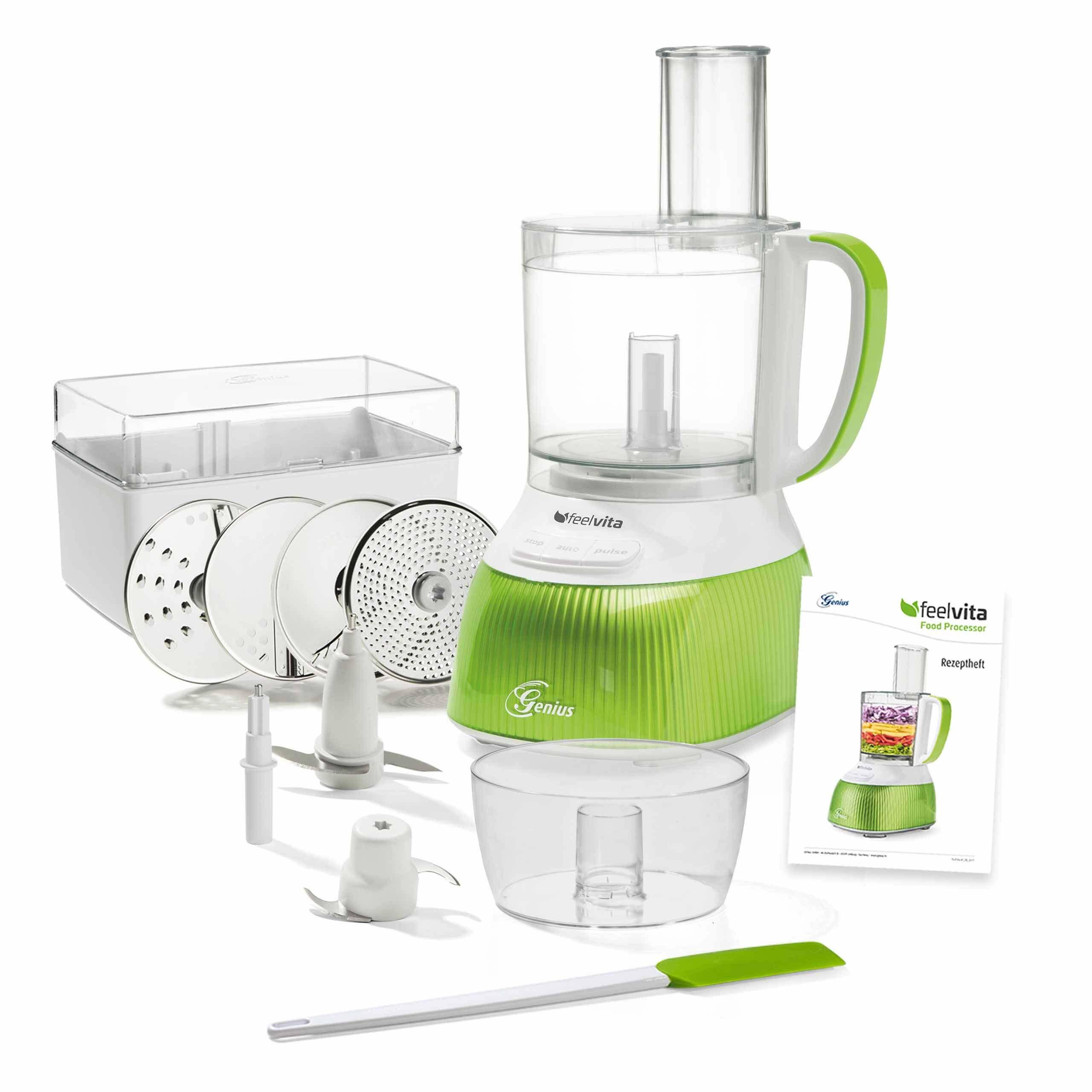 Genius Feelvita | Food Processor (Set 15-tlg.) A81329