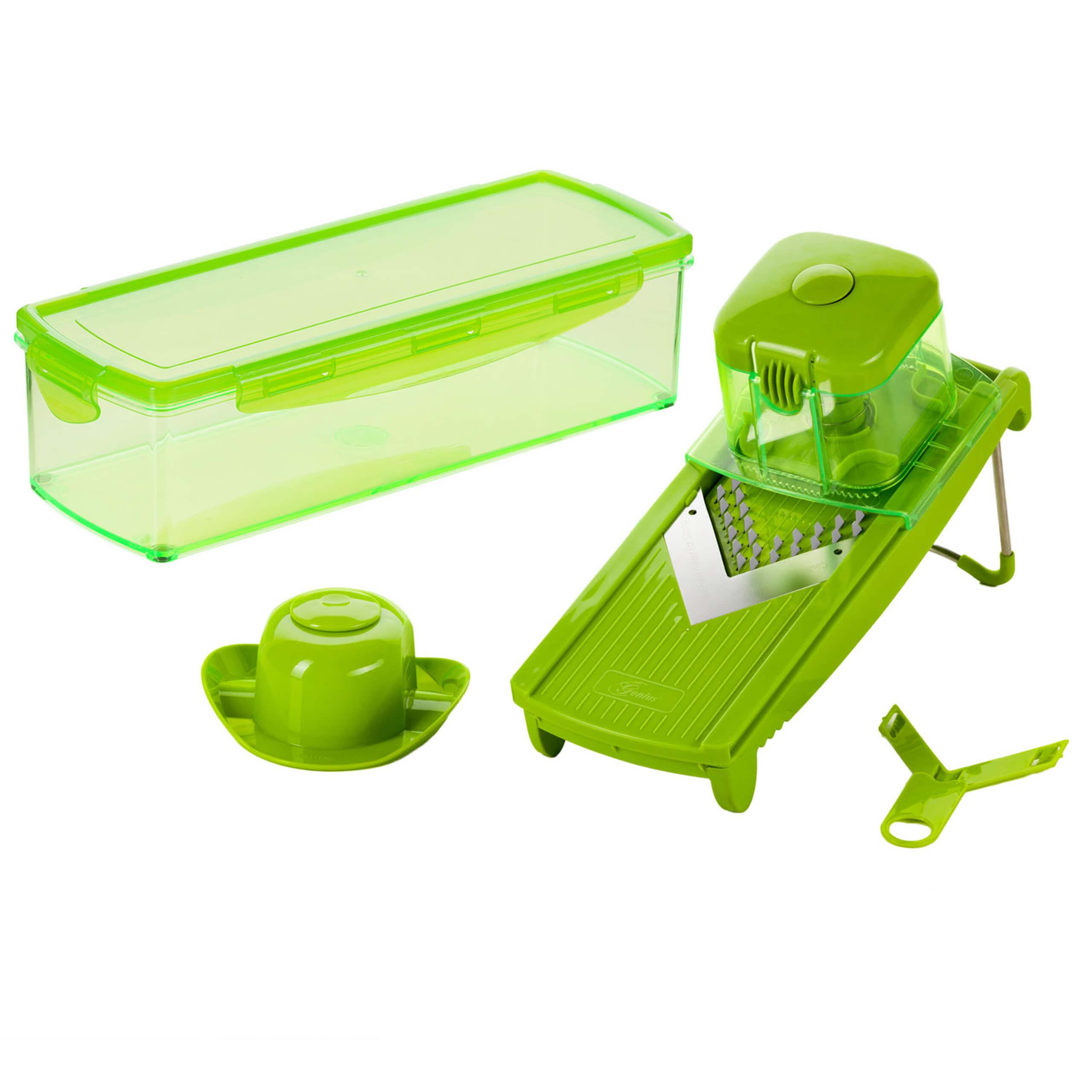 Speed Slicer Medium | Set 6-tlg. (Grün)