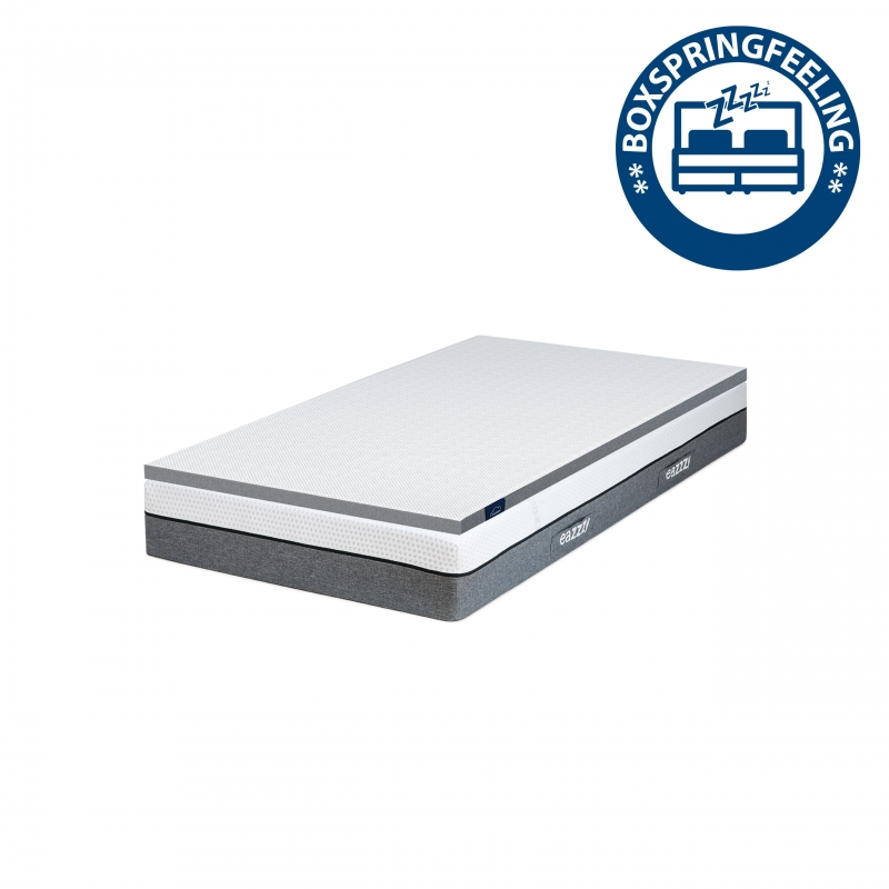 eazzzy | Boxspring-Set | Matratze 90 cm x 200 cm + Topper