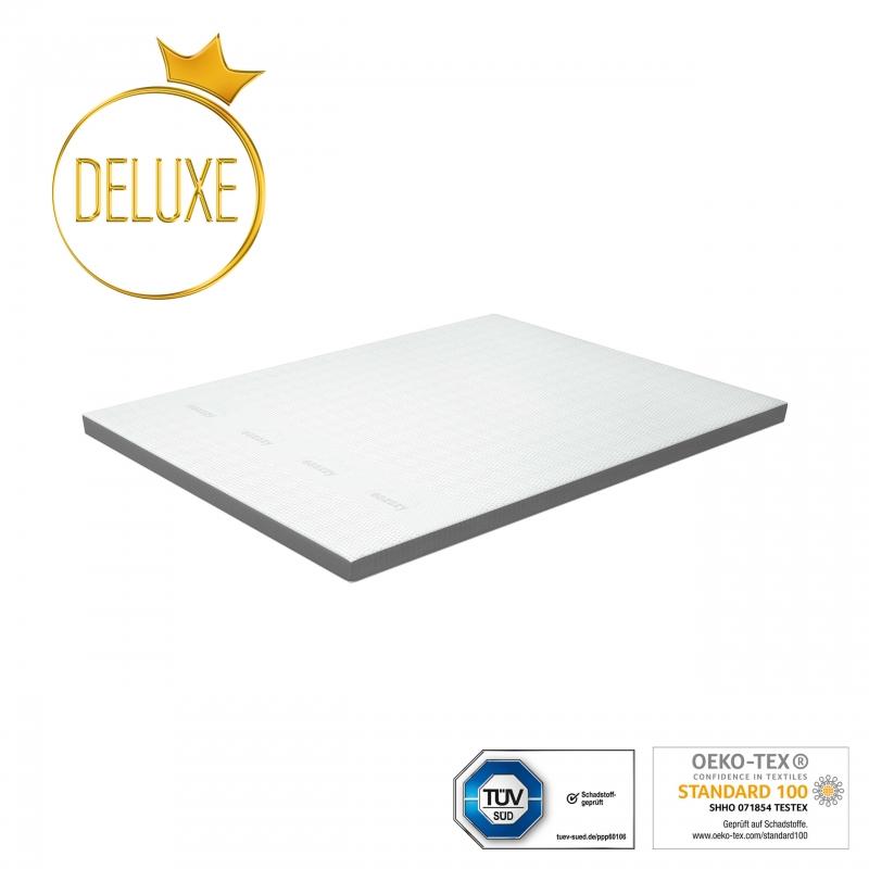 eazzzy   Matratzentopper Deluxe 160 x 200 x 9 cm