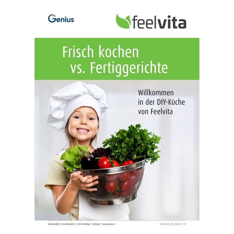 Frisch kochen vs. Fertiggerichte Rezeptheft (eBook)