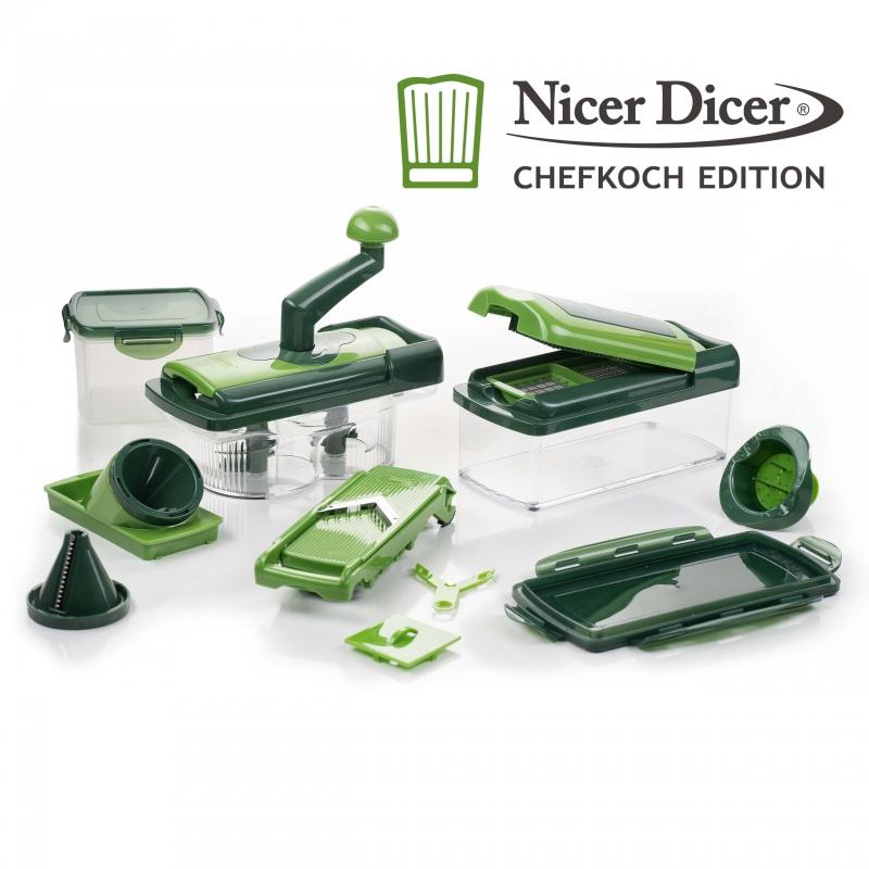 Nicer Dicer Chefkoch Edition | Set 20tlg. | B-Ware