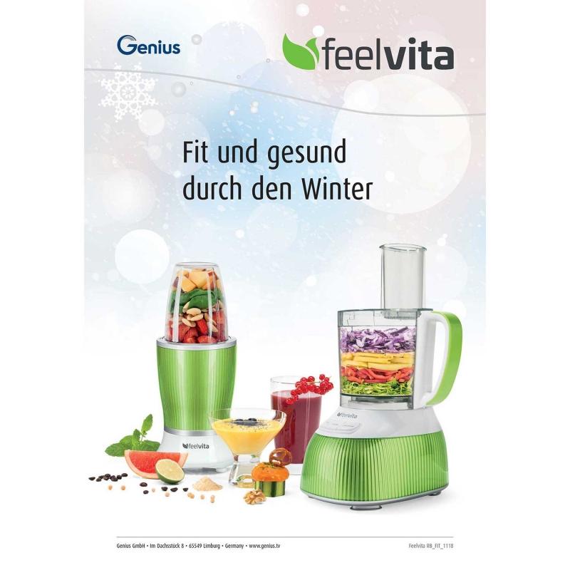 Fit & gesund durch den Winter Rezeptheft (eBook)