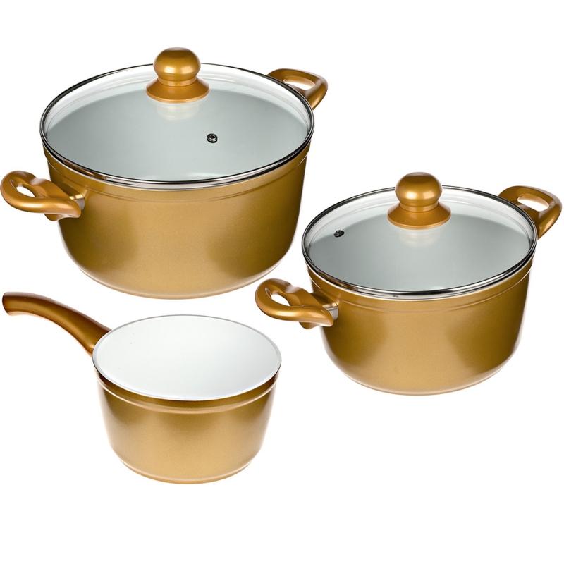 Cerafit Gold - Töpfe, Set 5tlg. | B-Ware