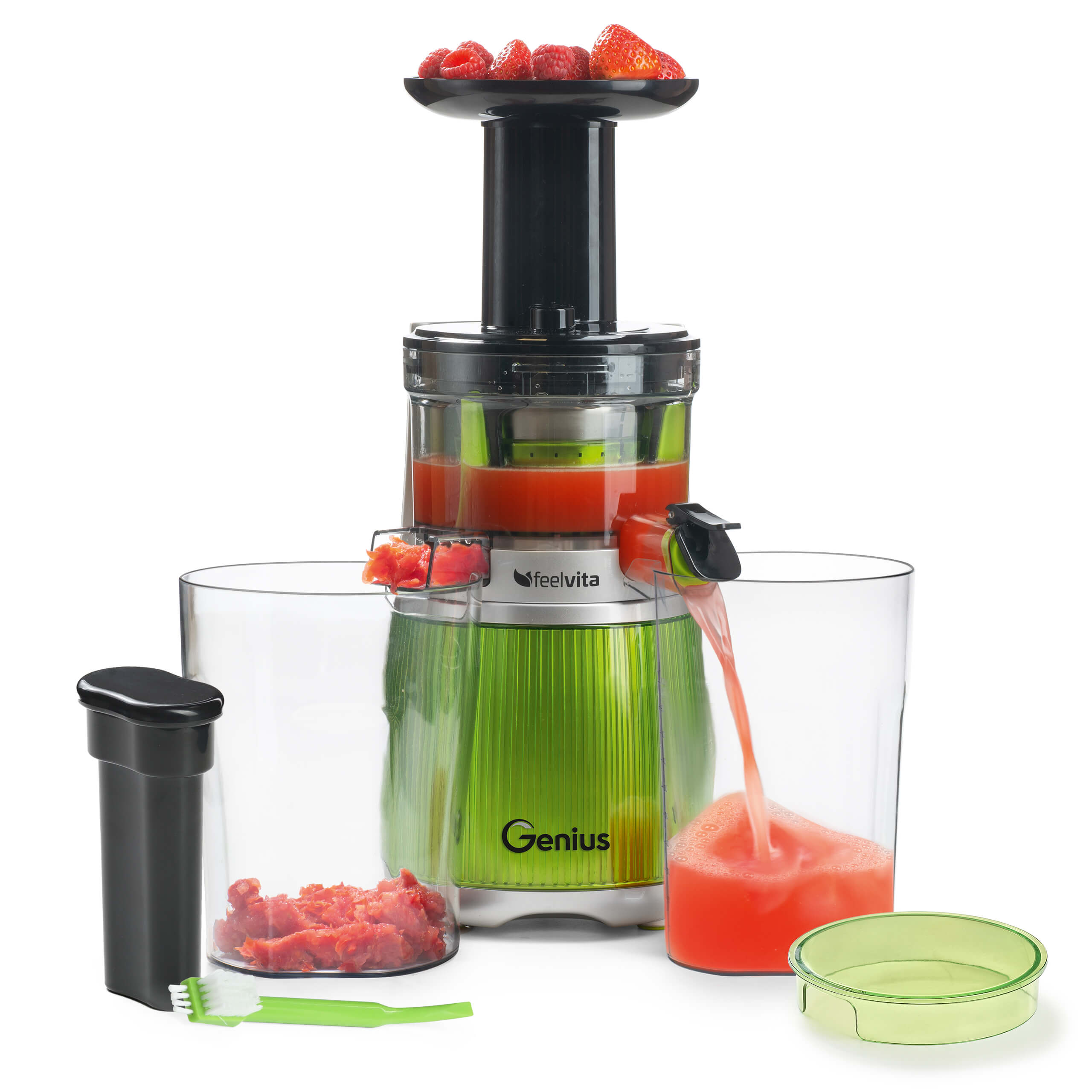 Genius Feelvita | Slow Juicer | Set 12-tlg. A31556